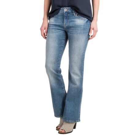 Mavi Ashley Jeans - Bootcut (For Women) in Indigo Brushed Vintage - Closeouts