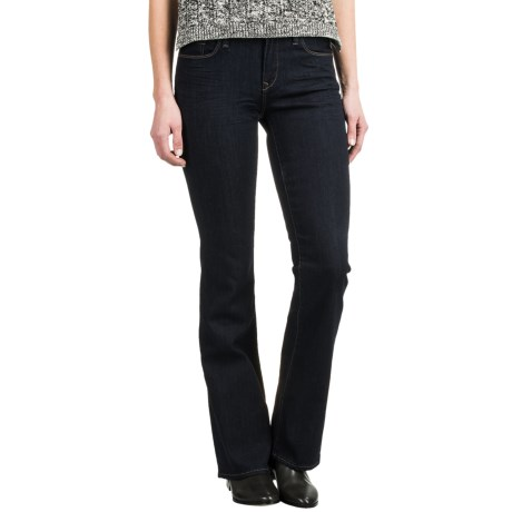 Mavi Molly Classic Bootcut Jeans - Stretch Cotton Blend, Mid Rise (For Women)