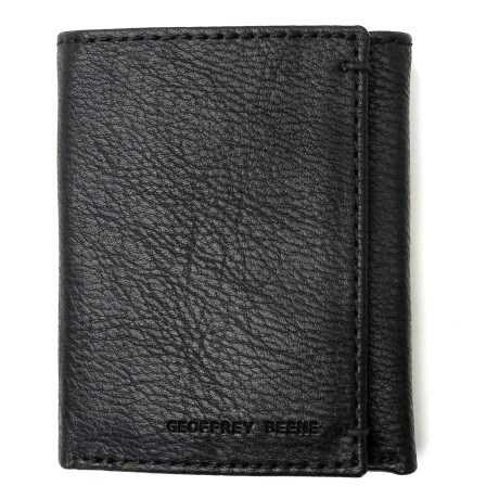 Geoffrey Beene Credit Card Trifold Wallet - Leather (For Men)