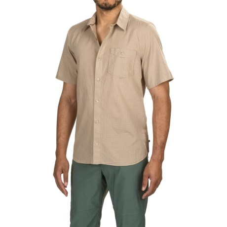 Toad&Co Airbrush Shirt - Organic Cotton, Short Sleeve (For Men)
