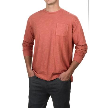 Free Nature Slub Knit T-Shirt - Long Sleeve (For Men)
