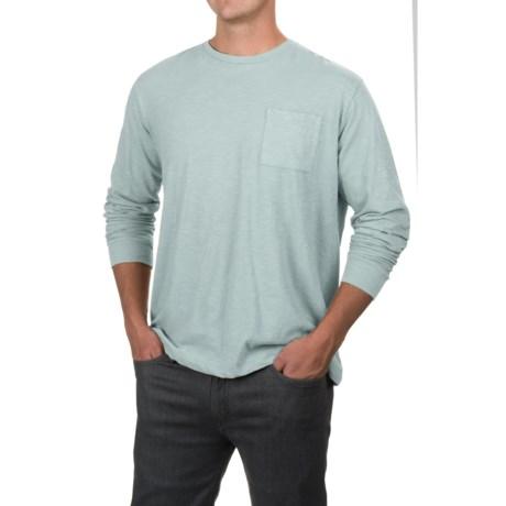 Free Nature Artistry in Motion  Slub Knit T-Shirt - Long Sleeve (For Men)