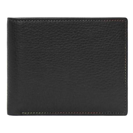Tallia Uomo Tallia Hughes Wallet - Leather, Bifold