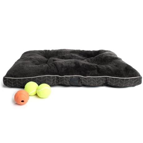 "Dog for Dog Dog For Dog Herringbone Dog Crate Mat - 30x22"""