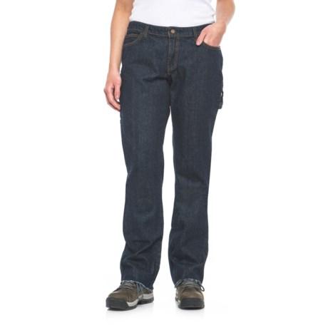 Dickies Relaxed Fit Carpenter Jeans - Unhemmed, Straight Leg (For Women)