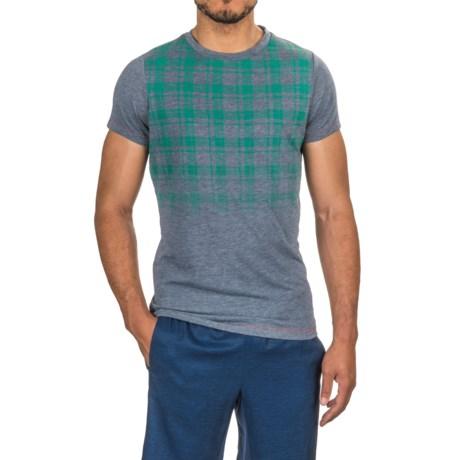 Janji Kenya Plaid T-Shirt - Short Sleeve (For Men)