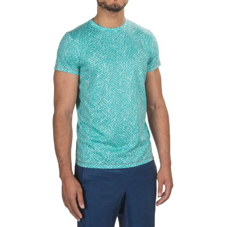 Janji Ethiopia Maze T-Shirt - Short Sleeve (For Men)