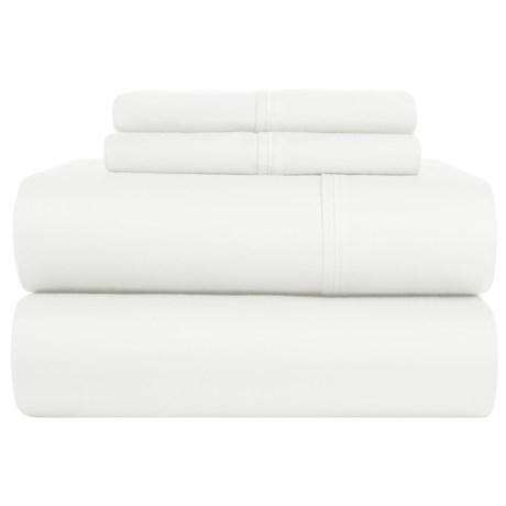 S.L. Home Fashions Ledeux Sheet Set - Queen, 300 TC