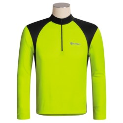 Canari Sight Cycling Jersey - Zip Neck, Long Sleeve (For Men)