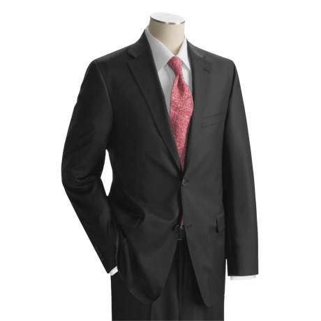 Jack Victor Tonal Stripe Suit - Superfine Worsted Wool (For Men)