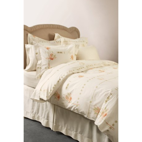 DownTown Tulip Pillow Shams - Set of Two, European