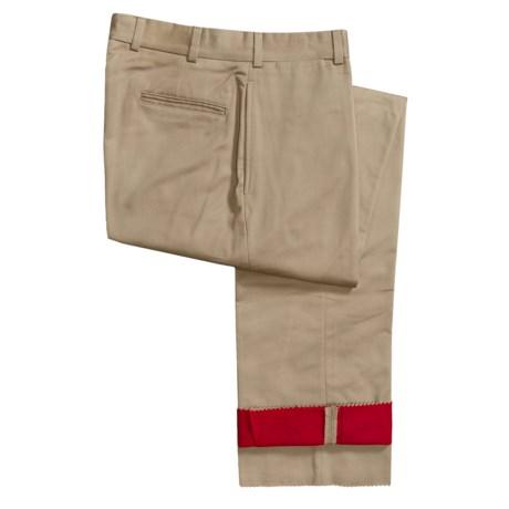 Bills Khakis M2 Flannel-Lined Khaki Pants (For Men)