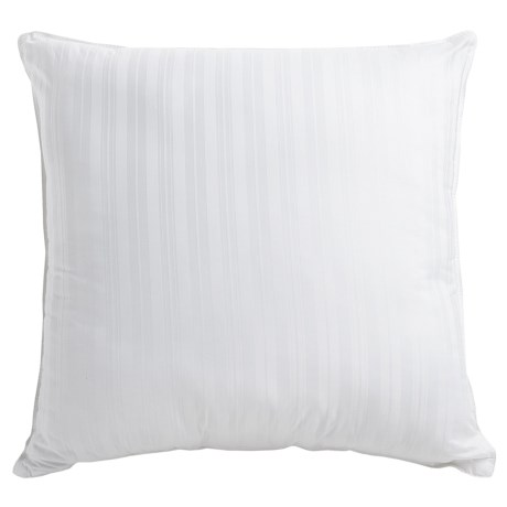 Tahari Square Down Alternative Striped Pillow - Euro, 300 TC