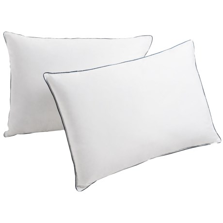 Pacific Coast Feather Company Pacific Coast Double DownAround® Feather Pillow - 300 TC, Super Standard/Jumbo, 2-Pack