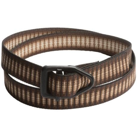 Bison Designs Black Viper Belt (For Men and Women)