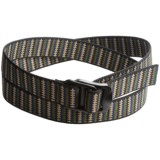 Bison Designs Black Decapinator Belt (For Men and Women)