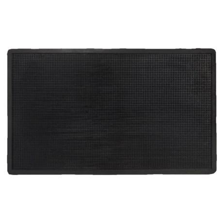 "Imports Décor Imports Decor Studded Rubber Doormat - 24x40"""