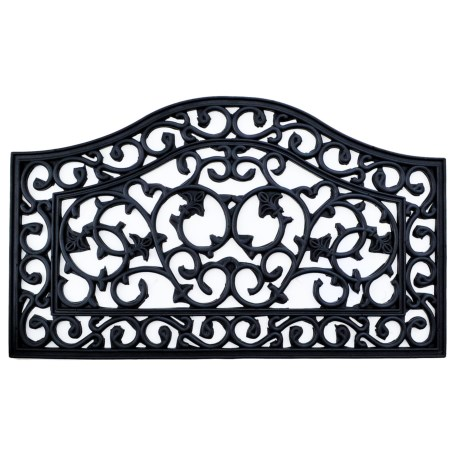 Imports Décor Imports Decor Ornate Rubber Doormat - 18x30""