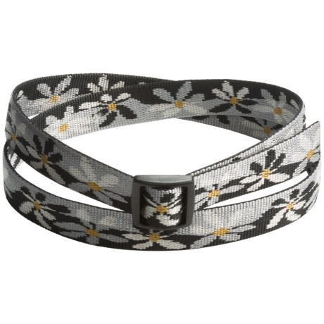 Bison Designs Water Lily Belt (For Men and Women)