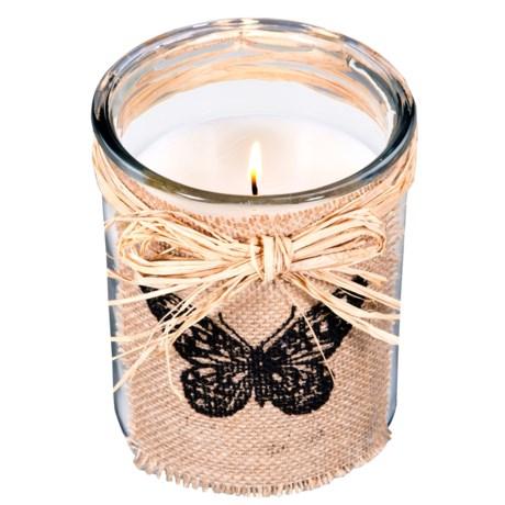 "Home Essentials & Beyond Home Essentials Round Citronella Candle - 6"""