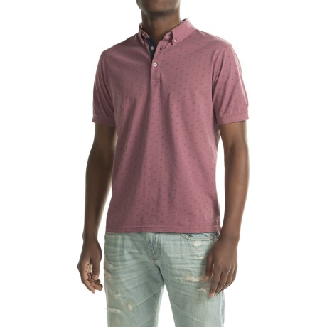 Report Collection Jersey-Knit Polo Shirt - Short Sleeve (For Men)