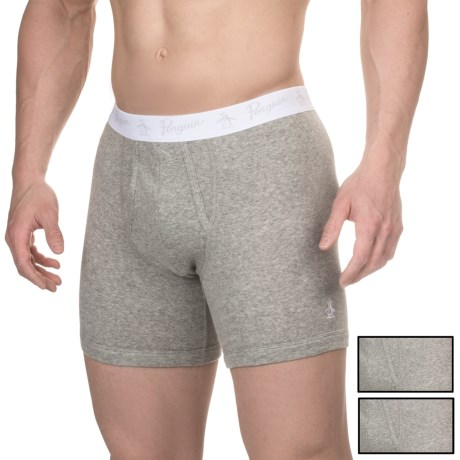 Penguin Cotton Boxer Briefs - 3-Pack