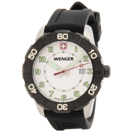 Wenger Roadster Sport Watch - Silicone Strap