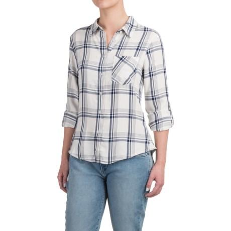 JACHS NY Ariel Split Button-Back Shirt - Rayon, Long Sleeve (For Women)