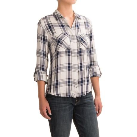 JACHS NY Jenny Fishtail Twill Shirt - Long Sleeve (For Women)