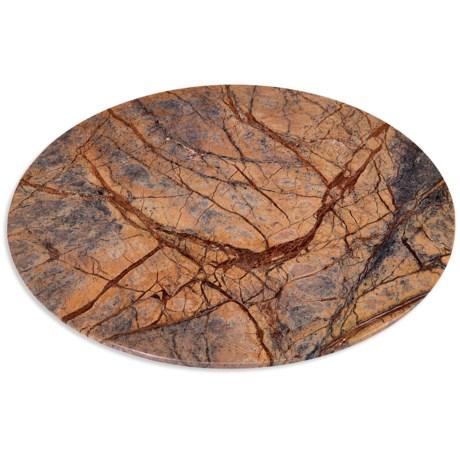 """Home Essentials & Beyond Home Essentials Round Marble Cutting Board - 12"""""""