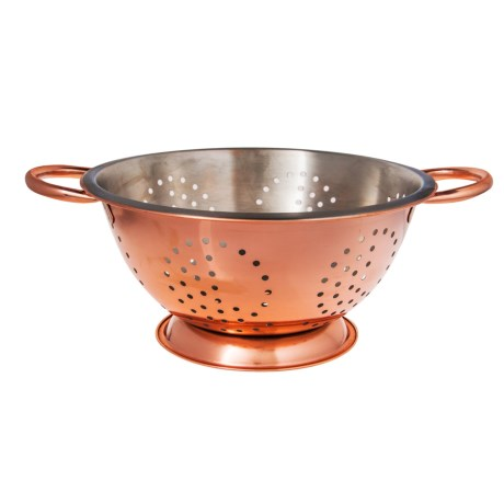 Home Essentials & Beyond Home Essentials Copper and Stainless Steel Colander - 3 qt.