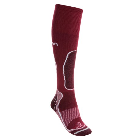 Lorpen Ski Socks - Italian Wool, Midweight (For Women)