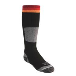 Lorpen Ski-Snowboard Socks - Italian Merino Wool (For Kids)