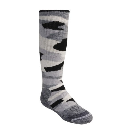 Lorpen Ski-Snowboard Socks - Italian Merino Wool (For Kids)