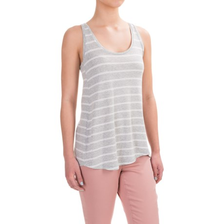Workshop Republic Clothing Scoop Tank Top - Pima Cotton-Modal (For Women)