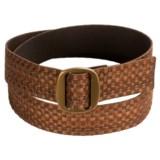 Bison Designs Ojai Wide Belt (For Men and Women)