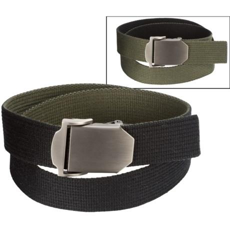 Bison Designs Flat Iron Reversible Belt (For Men and Women)