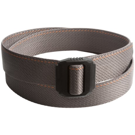 Bison Designs Jag Top-Stitch Accent Belt (For Men and Women)