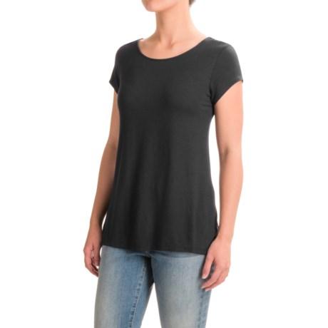 Mercer & Madison Low-Back T-Shirt - Short Sleeve (For Women)