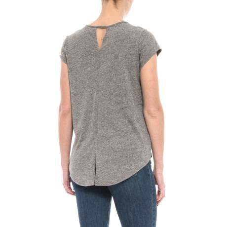 Artisan NY Keyhole Split-Back T-Shirt - Short Sleeve (For Women)