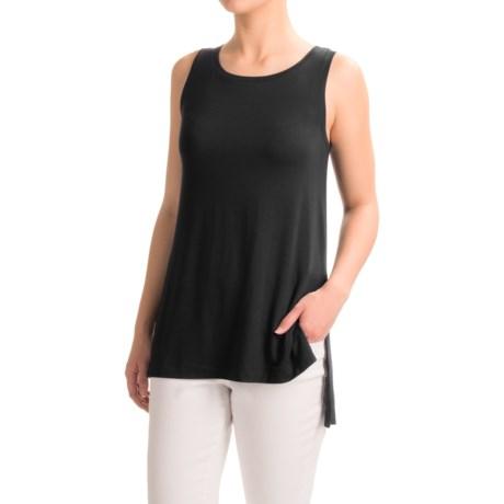 Mercer & Madison Hi-Lo Stretch Jersey Tank Top - Modal Blend (For Women)