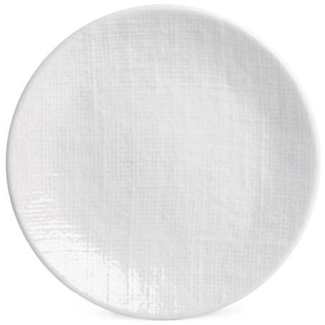 """Home Essentials & Beyond Home Essentials Round Stoneware Salad Plate - 7.5"""""""