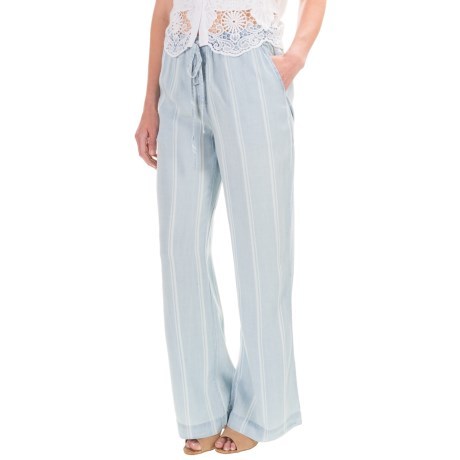 Workshop Republic Clothing TENCEL® Drawstring Pants (For Women)