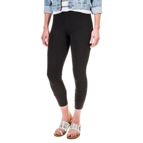 Workshop Republic Clothing Crop Leggings - Cotton-Modal (For Women)