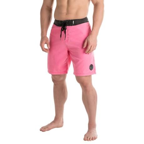 Maui & Sons Rad Ride Color-Block Boardshorts (For Men
