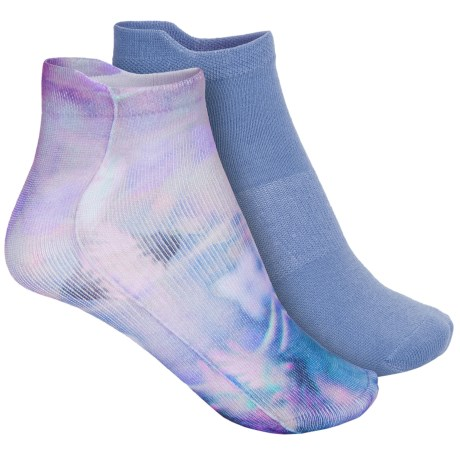 Sof Sole Printed Sport Liner Socks - 2-Pack, Below the Ankle (For Women)
