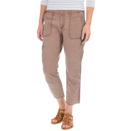 Specially made Cargo Pocket Capris (For Women)