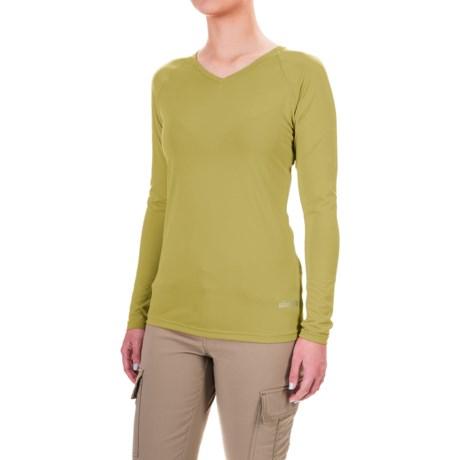 Sherpa Adventure Gear Rinchen T-Shirt - V-Neck, Long Sleeve (For Women)