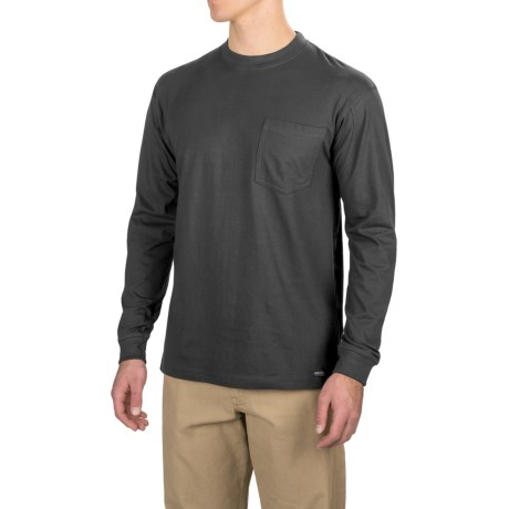 Smith's Workwear Long Tail T-Shirt - Long Sleeve (For Men)