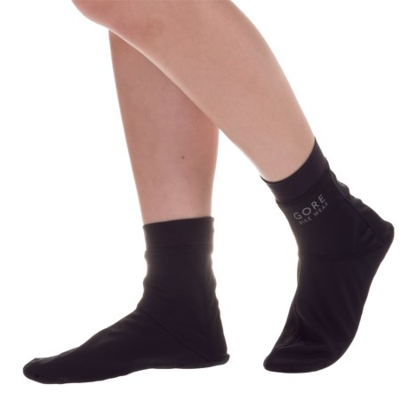 Gore Bike Wear Universal Windstopper® Socks - Crew (For Men and Women)